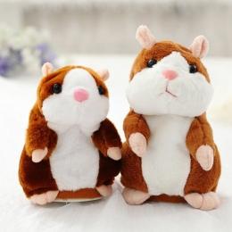 Gorący Rozmowa Chomik Elektroniczne Zwierzątko Pluszowe Zabawki Cute Nagrywania Dźwięku chomik Zabawka Edukacyjna dla Dzieci Uro