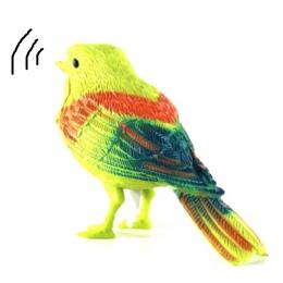 Sterowanie głosem Muzyki Zabawki Ptaka Symulacji Śliczny Śpiewać Piosenkę Ptak zabawki Lalki 2017 Śmieszne Elektroniczne Zwierzą