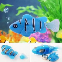 Dzieci Śmieszne Zabawki Do Kąpieli Elektroniczne Zwierzątko Połowów Zbiornik Dekorowanie Robot Ryby Pływanie Ryb Elektroniczny Z