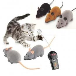 Bezprzewodowy Pilot Zdalnego Sterowania Mysz Elektroniczny RC Myszy Zabawki Prezent Dla Dzieci Mysz Miłość Słodkie Zabawki Brązo