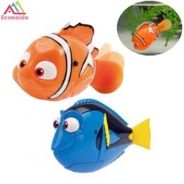 Robot Mały Dory SERMOIDO Nemo Ogon Ryby Pływanie Lalki Kolorowe Peruki Syrenka Dziecko Elektroniczne Zwierzątko Zabawki Robofish