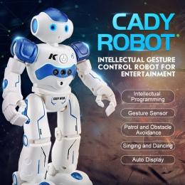RC Humanoidalne Dwunożny Robot Robot czyszczący Inteligentny Programowania Zdalnego Sterowania Robotem Zabawka Dla Dzieci Dzieci