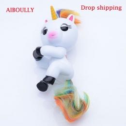AIBOULLY interaktywne palec jednorożec Inteligentny Indukcyjne Zabawki Christmas Gift Toy finger Dziecko Małpa styl