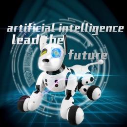 2.4g Bezprzewodowy Pilot Zdalnego Sterowania Inteligentny Pies Elektroniczne Zwierzęta Edukacyjne Dla Dzieci Zabawki Dancing Rob