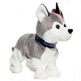 Piękne Elektroniczne Psów Zwierzęta Kontrola Dźwięku Interaktywny Robot Toy Dog Bark Stoiska Spacer Elektroniczne Zwierzątko Zab