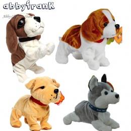 Abbyfrank Sound Control Elektroniczne Interaktywne Elektroniczne Zwierzęta Psy Robot Dog Bark Stoiska Spacer Elektroniczne Psów