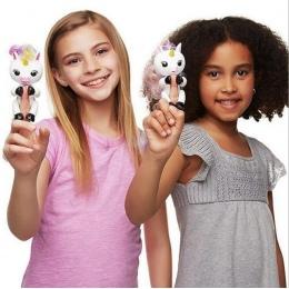Nowy Palec Interaktywne Dziecko Jednorożec jednorożec Mini Interaktywne lenistwo Smart Finger Palec małpa Inteligentny Jednoroże