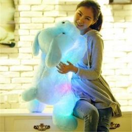 50 cm Plush Doll Luminous Pies 3 kolor LED Świecące Psy Dzieci Zabawki dla Dzieci Dziewczyna Prezent Urodzinowy darmowa wysyłka