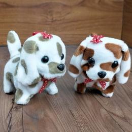 Śliczne Walking Barking Toy Funny Elektryczny Krótki Floss Elektryczny Przenoszenie Dog Dzieci Dzieci Zabawki darmowa wysyłka