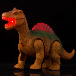 Elektryczne Chodzenia Dinozaury Dinozaur Zabawki Świecące z Dźwiękiem Zwierząt Modelu Zabawki dla Dzieci Dzieci Interaktywne Zab