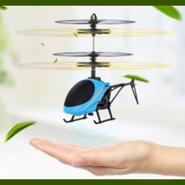 Mini RC drone Latające RC Helicopter Samoloty dron Indukcyjna Podczerwieni LED Zdalnego Sterowania drone dron Dla Dzieci Zabawki