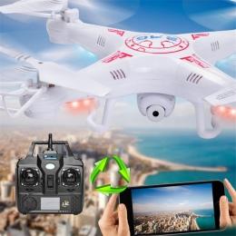 Drone X5C Rc Wifi W Czasie Rzeczywistym Fvp Helikopter De Controle Remoto X5c Drony Z Wifi FPV 2MP Kamera Wysokości Trzymać quad