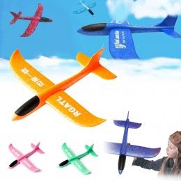 2018 Nowy Ręcznie Uruchomienie Szybowiec Pianki Zabawka Modelu Samolotu, Poziome Latające i Spirali Latające