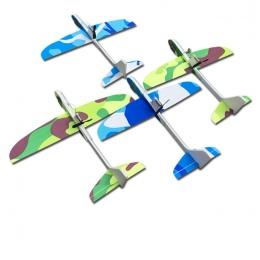 Kondensator Samolot Elektryczny Ręcznie Uruchomienie Rzucanie Darmowa-latające Fix Skrzydło Samolotu Zabawka Modelu Samolotu Na