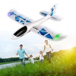 Rodzina Rodzic-dziecko Bezwładności Szybowiec Samolot Samoloty Pianki Rzucanie Na Zewnątrz Zabawki Ręcznie Uruchomić Samolot Mod