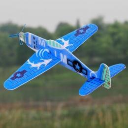 19 cm Rzut Ręka Latająca Szybowiec Samoloty PPE Piana Samolot Party Bag Wypełniacze Mini Drone Model Samolotu Zabawki Dla Dzieci