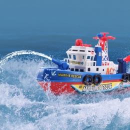 Wysoka Prędkość Muzyka Światła Electric Marine Rescue Fire Fighting Łodzi Spoza Zdalnego Zabawki