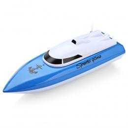 RC Łodzie Kidome Ładowania Zewnątrz Radio Pilot Zdalnego Sterowania 4 Kanały Wodoodporny Mini High speed boat Sterowiec Bait Boa
