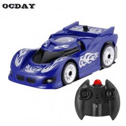 Ściany Wyścigi Szklany Sufit Wspinaczka coche RC Car Zero Gravity Piętro Wspinacz Mini RC Racer Pilot gąsienicowe Zabawka Dla dz