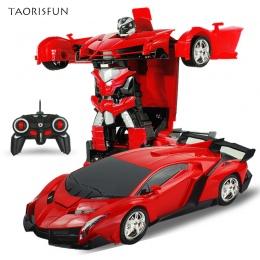 2 W 1 Sport RC Zdalnego Sterowania Modeli Samochodów Transformacja Roboty Deformacji Samochodu RC Roboty Dzieci Zabawki Dla Dzie