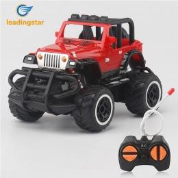 LeadingStar 1:43 Mini Samochody RC Off-road 4 Kanałów Pojazdu Elektrycznego Modelu Zabawki jako Prezenty dla Dzieci zdalnego ste