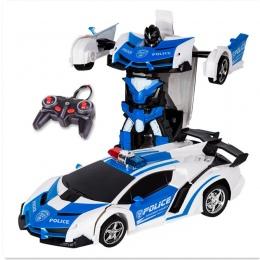 Zabawki RC Samochodów Zdalnego Sterowania Transformacja Roboty zabawki Deformacji zabawki RC Sportowe Modelu Pojazdu dla Dzieci
