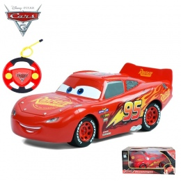 Disney Pixar Cars 3 Jackson Cruz RC Samochody Mcqueen Ligtning dla Chłopców Dziewcząt Dzieci Zabawki Xmas Prezenty Urodzinowe Li