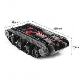 Wenhsin Robot Tank Podwozie Handmade DIY Kit Światła Wstrząsy Absorbowane 130 Silniki Tłumienia Równowagi Tank Podwozie Robota d