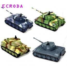 Ecroda zdjęcie brand new tiger rc czołg 14ch 1: 72 skala pilot symulowane pancerna mini zbiornika dzieci toys prezent