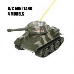 Mini 4CH Radio RC VS Zbiornika Pilot Kieszeń Ciężarówka R/C Zabawki Stryker Cannon Samochód Emoji LED Światła kid Wojskowy Preze