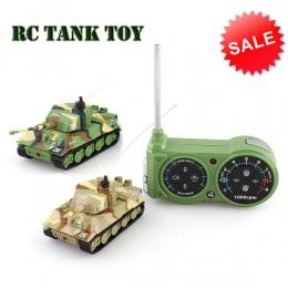 Wojskowy RC Gąsienicowe Zbiornik Pilot Symulacji Armos Corps Tiger Bitwa Model Wzajemne Walki Armii Zabawki dla 6 Roku Życia dzi