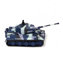 Nowy Mini 1: 72 49 MHz R/C Zdalnego Sterowania Drogą Radiową Tiger Zbiornik 20 M Dzieci Toy Prezent armia 4 Kolory