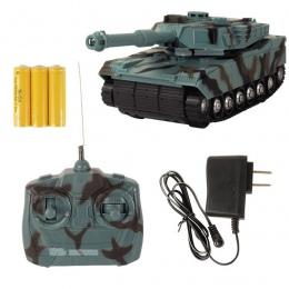 1:22 Radio Pilot Zdalnego Sterowania RC Tank Bitwa Zabawki Zbiornika RC Zbiornik walki Model Classic Zabawki Dla Dzieci 360 Obró