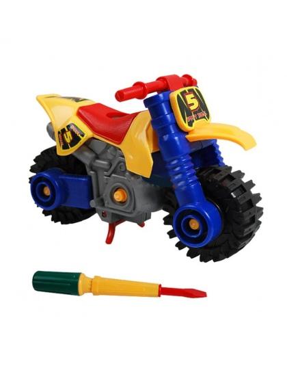 Moda Projektowanie Demontaż motocykl zabawki Edukacyjne dla dzieci Dzieci Y714 dropship