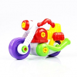 Demontażu I Montażu Mini Kreskówki dla dzieci Dzieci Dziecko Motocykl Zabawka Motocykl Z Narzędziem Prezent Na Boże Narodzenie