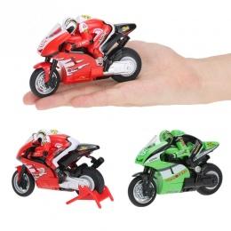 RC Motocykl Zabawki 8012 1/20 2.4G Zdalnie Sterowane mini RC Motocykl Super Fajne Zabawki Kaskaderów Samochód Dla Dzieci Prezent