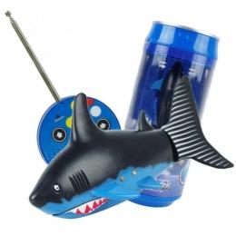 Drink Can Radio Pilot Zdalnego sterowania RC Super mini Shark shark ryby Łodzi Submarine powietrza Prezent
