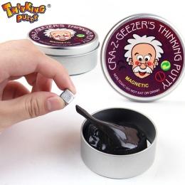 DIY Magnetyczne Inteligentny Gumy Magnes Plastelina Modeliny Szlam Błoto Magiczna Ręka Kit Doh Silly Putty Bounce Zabawki Dla Dz