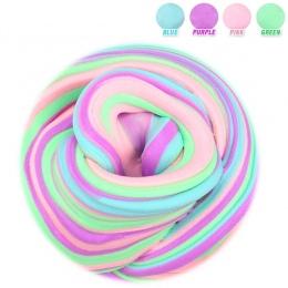 60 ml Dynamiczny Puszyste Szlam plastikowe gliny Światła Gliny kolorowe Modelowanie Polimeru Gliny Piasku Fidget Plastelina Gum
