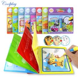 COOLPLAY Magia Wody Rysunek Książka Kolorowanka Doodle & Magic Pen Malarstwo Rysunek Wyżywienie Dla Dzieci Zabawki Prezent Urodz