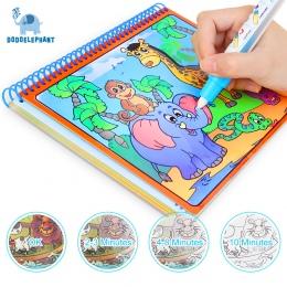 Magia Wody Rysunek Książka Kolorowanka Doodle Z Magic Pen Malarstwo Rysunek Pokładzie Kolorowanka Dla Dzieci Zabawki Zabawki NIE