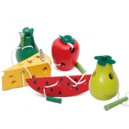 Drewniane Edukacja Dla Dzieci Przedszkole Mysz Nici Ser Plaything Wczesna Nauka Edukacja Zabawki Pomoce Dydaktyczne Montessori M