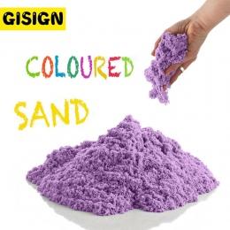Dynamiczny Gliny Piasku Zabawki Edukacyjne Kolorowe Miękkie Magiczny Piasek Przestrzeń Hala Odtwórz Sand Dzieci Zabawki dla Dzie