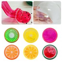 Śmieszne Kreatywne Inteligentnego Plasteliny Gliny Gliny Narzędzia Kryształowy Owoców Szlam Zabawki Dla Dzieci Bezpieczne nietok
