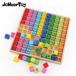 Montessori Edukacyjne Drewniane Zabawki dla Dzieci Zabawki Dla Niemowląt 99 Mnożenia Tabeli Arytmetyczne Matematyka Pomoce Dydak