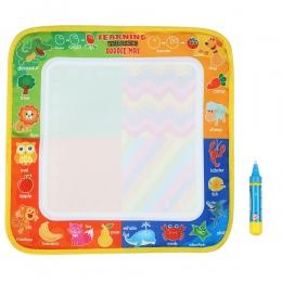 Nowy Rysunek Zabawki Wody Rysunek Mat 29*30 CM Pokładzie Malarstwo i Pisania Doodle Z Magiczne Pióro Dla toksycznych Rysunek Wyż
