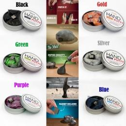 Ręcznie kit DIY Marki Gumy Błoto szlam Playdough Magnetyczne Mocne Magnetyczne Gliny plastelina Kit Edukacji Zabawki Dzieci Prez
