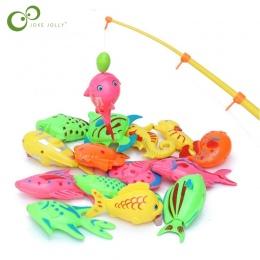Połowów magnetyczne Zabawki Gry dla Dzieci 1 sztuka Pręt + 10 sztuk 3D Ryby Wanienka Zabawki Na Zewnątrz ryb i wędka zabawki GYH