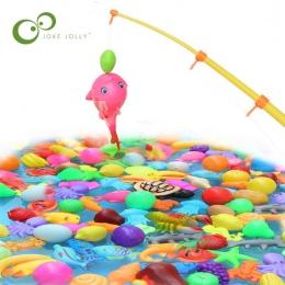 5 sztuk za Komplet Połowów Magnetyczne Zabawki Gry dla Dzieci 3D Ryby Wanienka Zabawki Zabawy Na Świeżym Powietrzu zabawki WYQ
