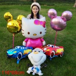 Wysokiej jakości Kreskówki Hello Kitty Foliowe Balony Urodziny Ślub Nadmuchiwane Balony Klasyczne zabawki HelloKitty Prezent